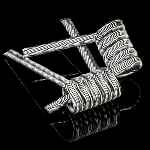 Tesla Handcrafted Coils Alien Fused Clapton Ni80 0.24Ohm