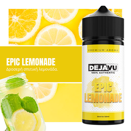 NTEZABOY Epic Lemonade 25ml (120ml)